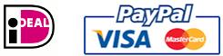 Betaalwijzen± overschrijving, IDEAL, PayPal