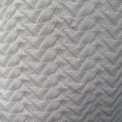 Breipakket omslagdoek ruit (45 x 180  cm)