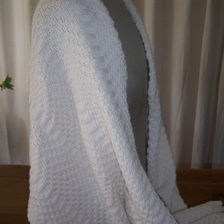 Breipakket omslagdoek V (45 x 180  cm)