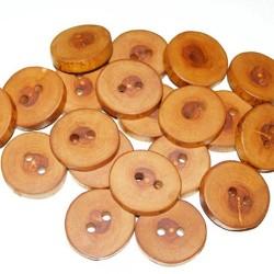 Knoop appelhout 2,5 cm