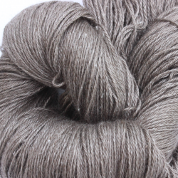 Bruine Yak met zijde (100 Gram / 466 Mtr)
