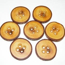 Knoop pruimenboomhout