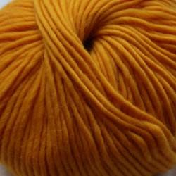 Breiwol, mais geel, een draads. 50 gram / 50 Mtr