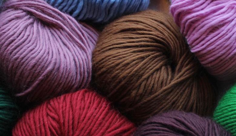 Prachtige warme kleuren, super zachte scheerwol.