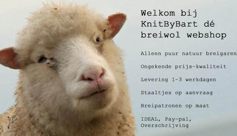 KnitByBart uw webshop voor breiwol en breigaren