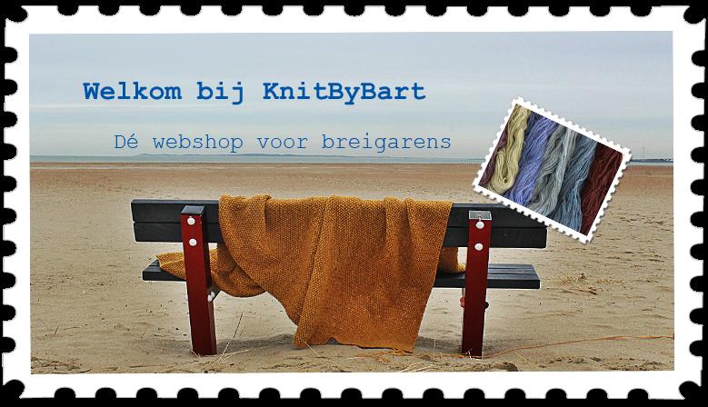 KnitByBart heet u welkom in de nieuwe webshop