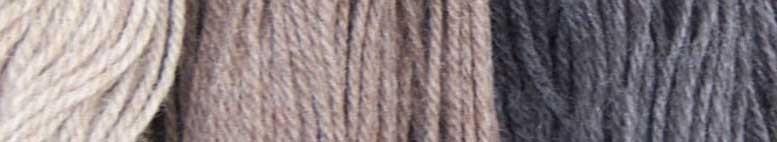 Merinowol, ongeverfde natuurlijke wol.