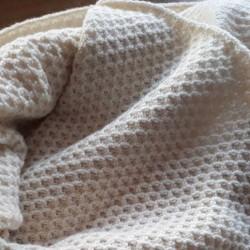 Omslagdoek schapenwol 70 x 150