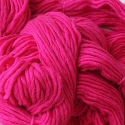 Fel roze XL breigaren (200 Gram)