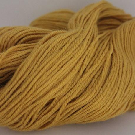 Trui breien, Sjaal breien van Alpaca classic oker / geel , 100 gram