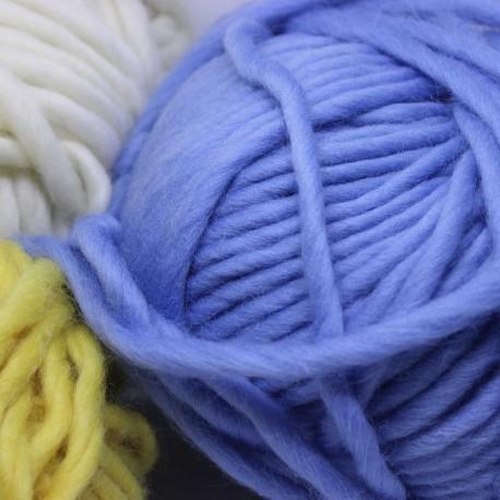 Brei snel op pen 15 een sjaal, muts, store vest of deken, super garen !