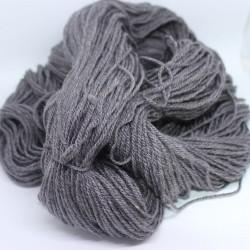 Scheerwol met rami, sokkenwol. Grijs , 300m/100gr,Pen 3.5-4