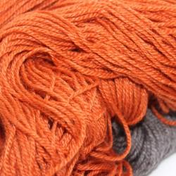 Scheerwol met rami, sokkenwol. Terra , 300m/100gr,Pen 3.5-4