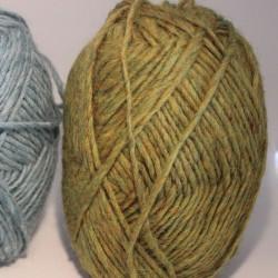 Tweed wol licht groen