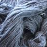 Handgeverfde sokkenwol wol met rami, 300m/100gr,Pen 3.5-4