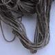Bruine Yak met witte moerbijzijde, zeer speciaal breigaren