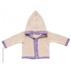 Baby hooded jacket
