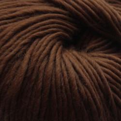 Breiwol,Mokka, een draads. 50 gram / 50 Mtr