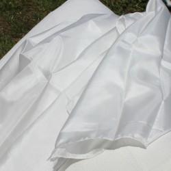 Naturel zijden omslagdoek (90 x 90)